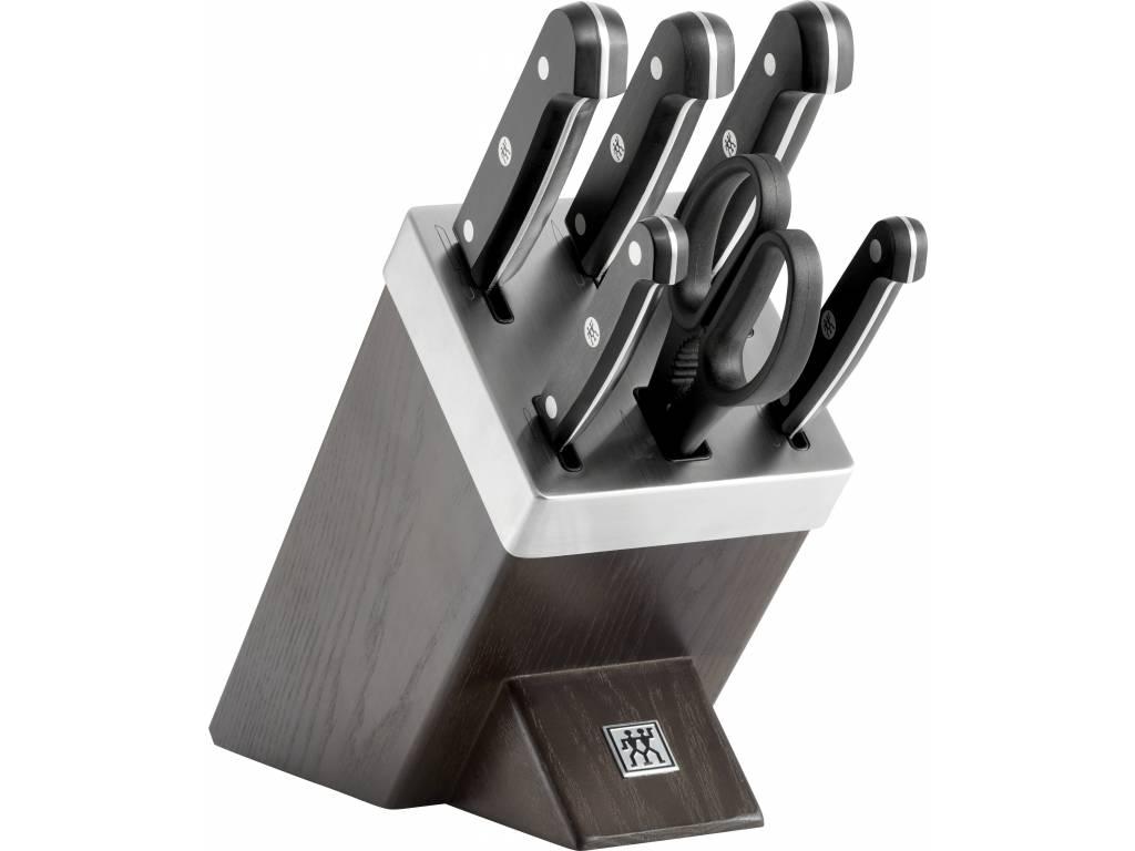 Zwilling Gourmet Samoostriaci blok s nožmi 7 ks