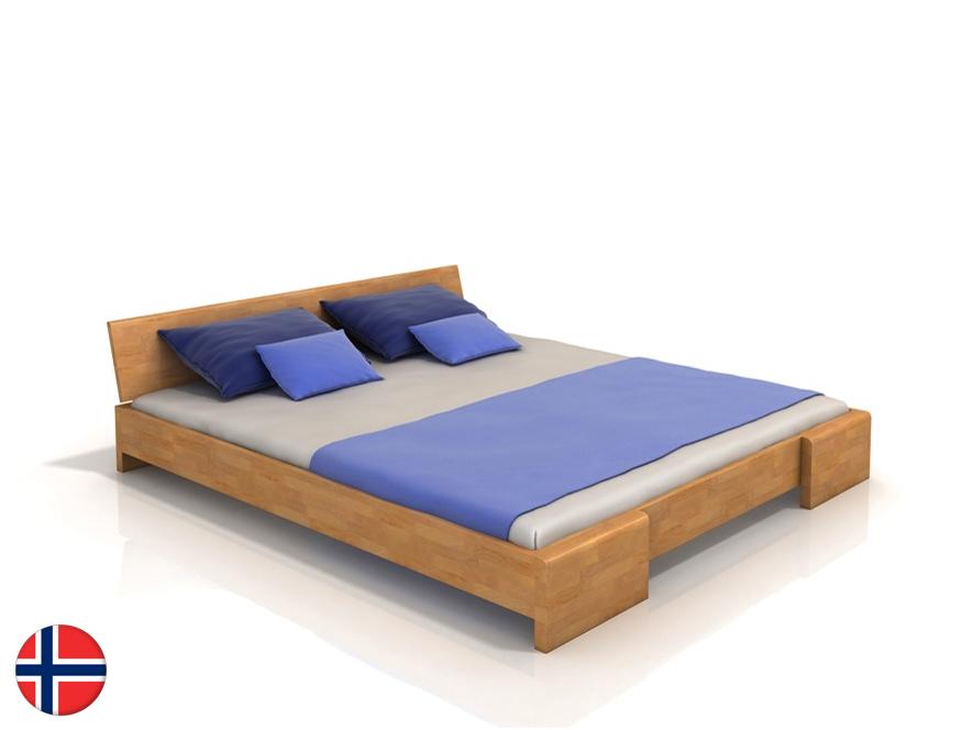 Manželská posteľ 200 cm Naturlig Blomst (buk) (s roštom)