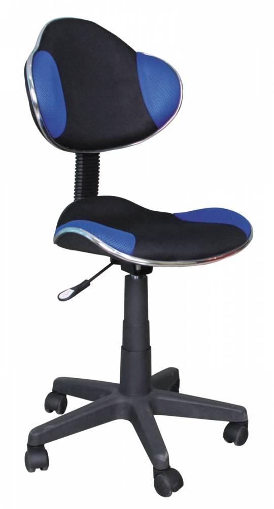 Kancelárske kreslo Q-G2 (modrá + čierna)