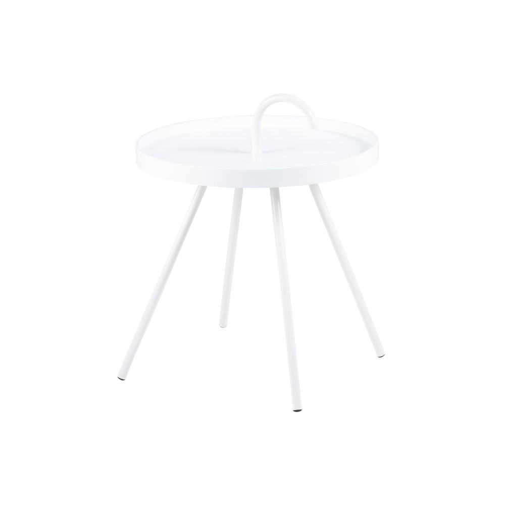 Biely príručný stolík Actona Mico