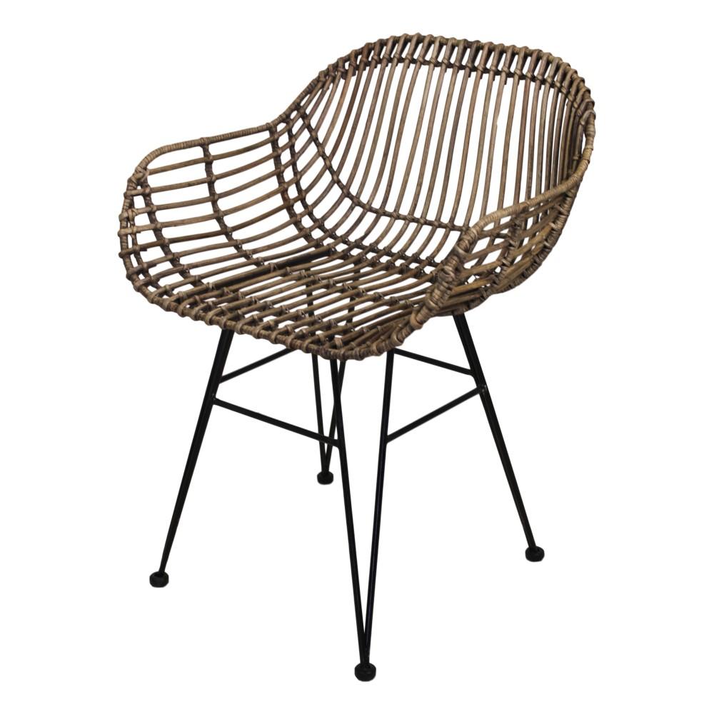 Jedálenská stolička z koboo ratanu HSM Collection