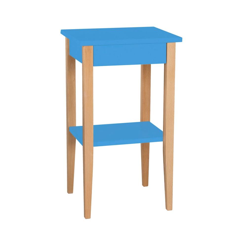 Modrý odkladací stolík Ragaba Entlik