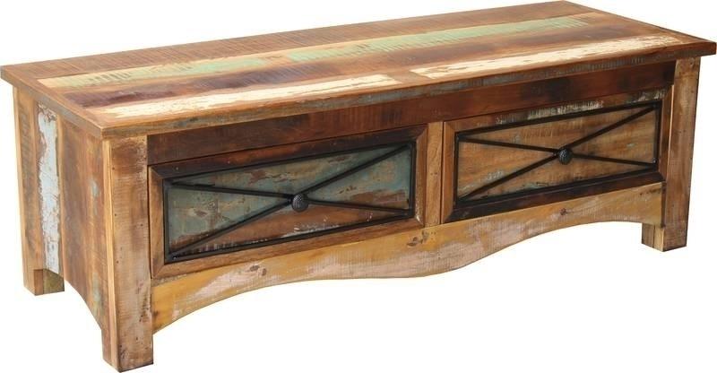SPIRIT Lavica #110 12x45cm indické staré drevo, lakované
