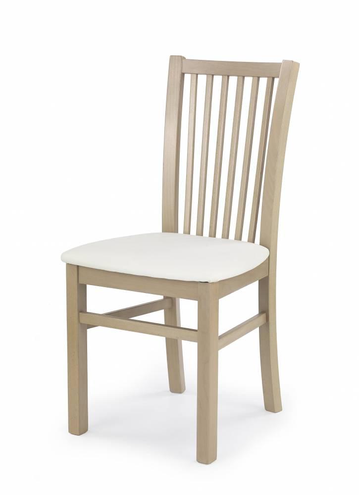 Jedálenská stolička Jacek (dub sonoma + biela)