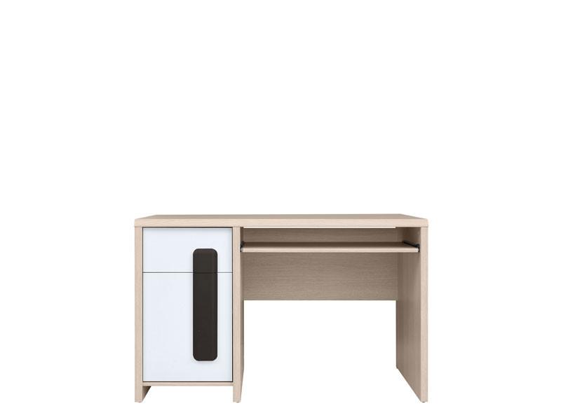 PC stolík Colorado BIU/120 (dub svetlý belluno + biela + wolfram)