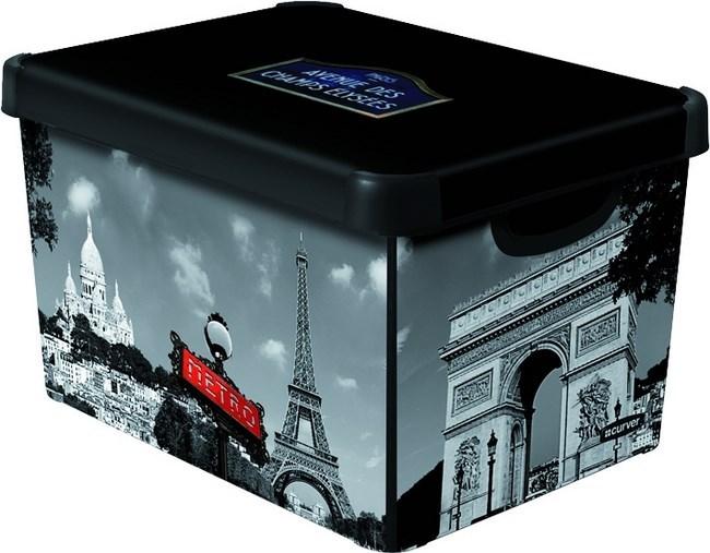 Dekorativní úložný box L PARIS