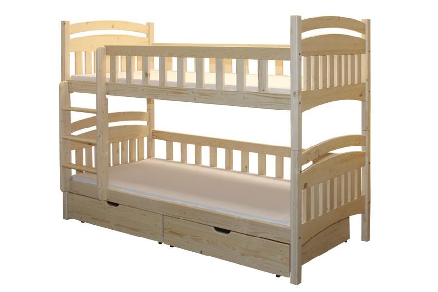 Bradop Poschodová posteľ HONZÍK B402-90x200