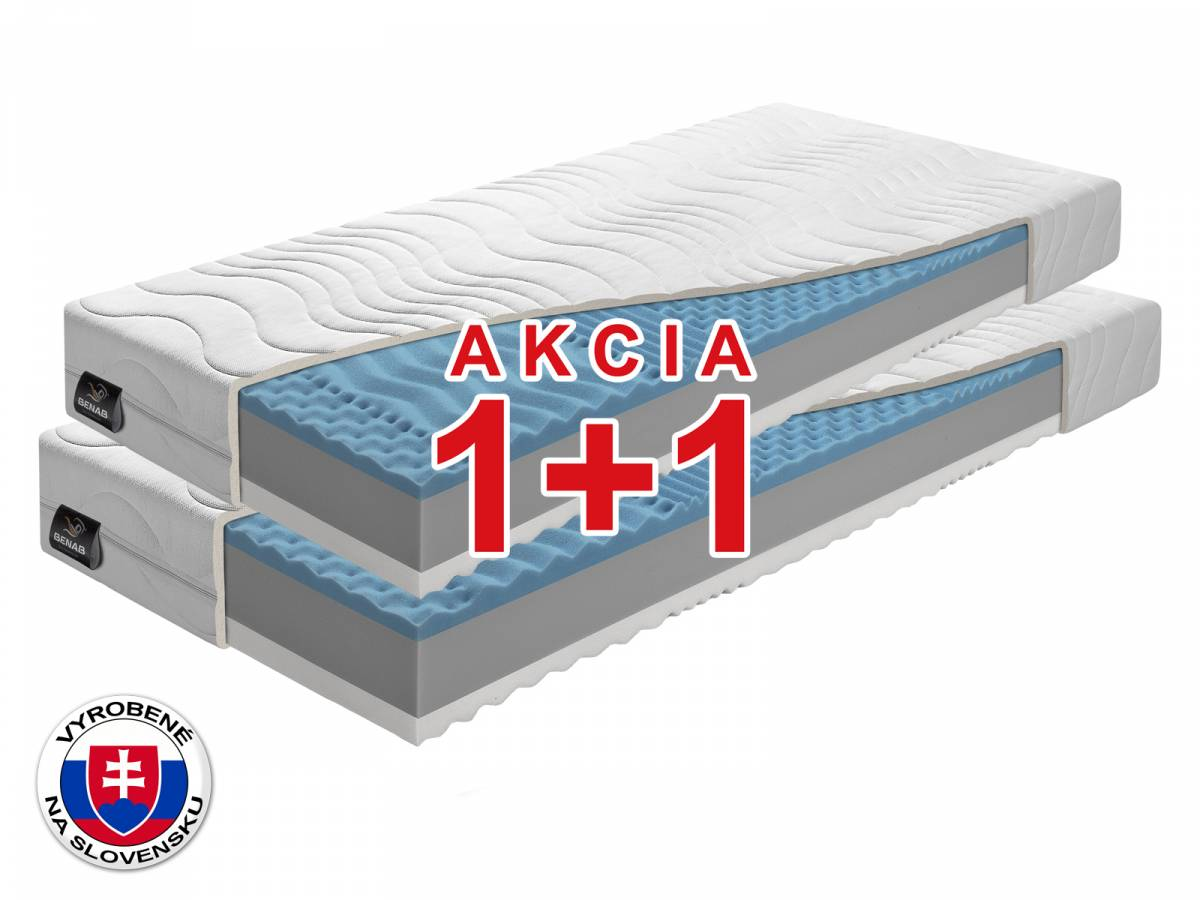 Penový matrac Benab Zero 200x90 cm *AKCIA 1+1 (T4/T3)