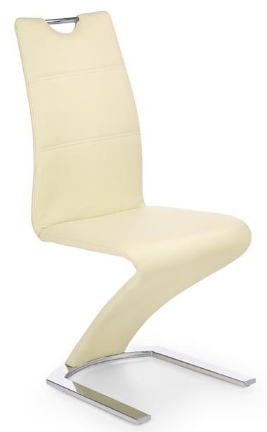 Jedálenská stolička K188 vanilka