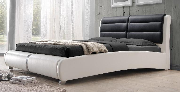Manželská posteľ 180 cm Verde (s roštom) CASA-4007