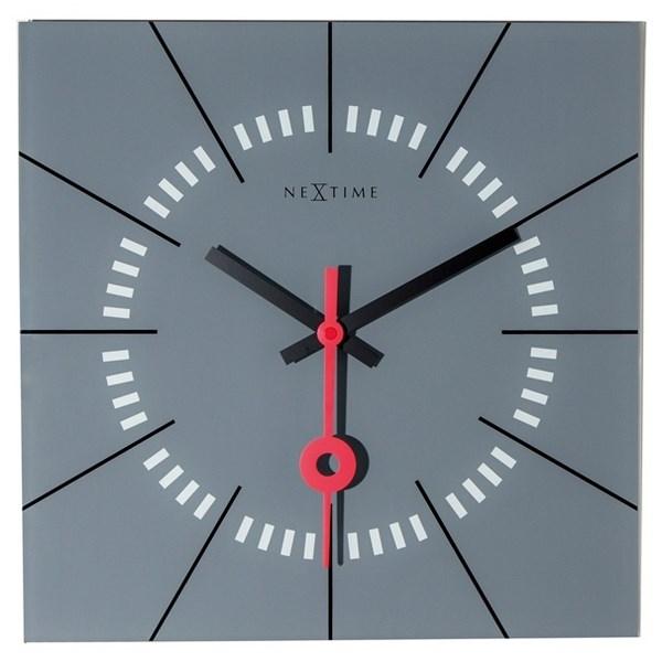 Nextime Stazione 8636gs nástenné hodiny