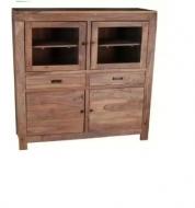 Furniture nábytok  Masívna Komoda z Palisanderu  Marzbán  120x45x140 cm