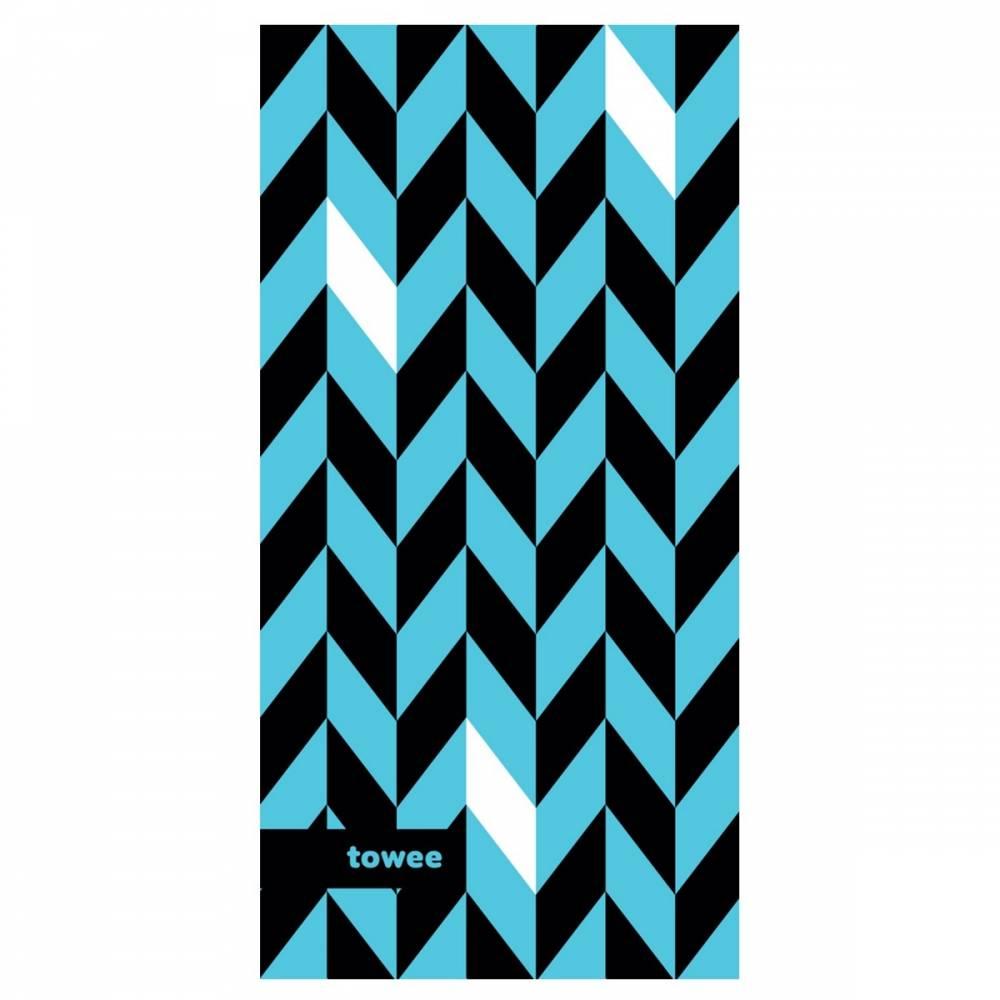 Towee Športový uterák DYNAMIC blue, 50 x 100 cm