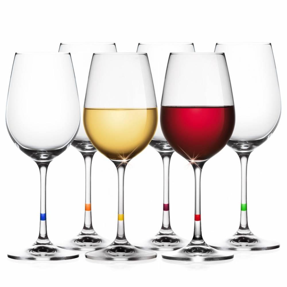 Tescoma UNO VINO Poháre na víno 350 ml, 6 ks,
