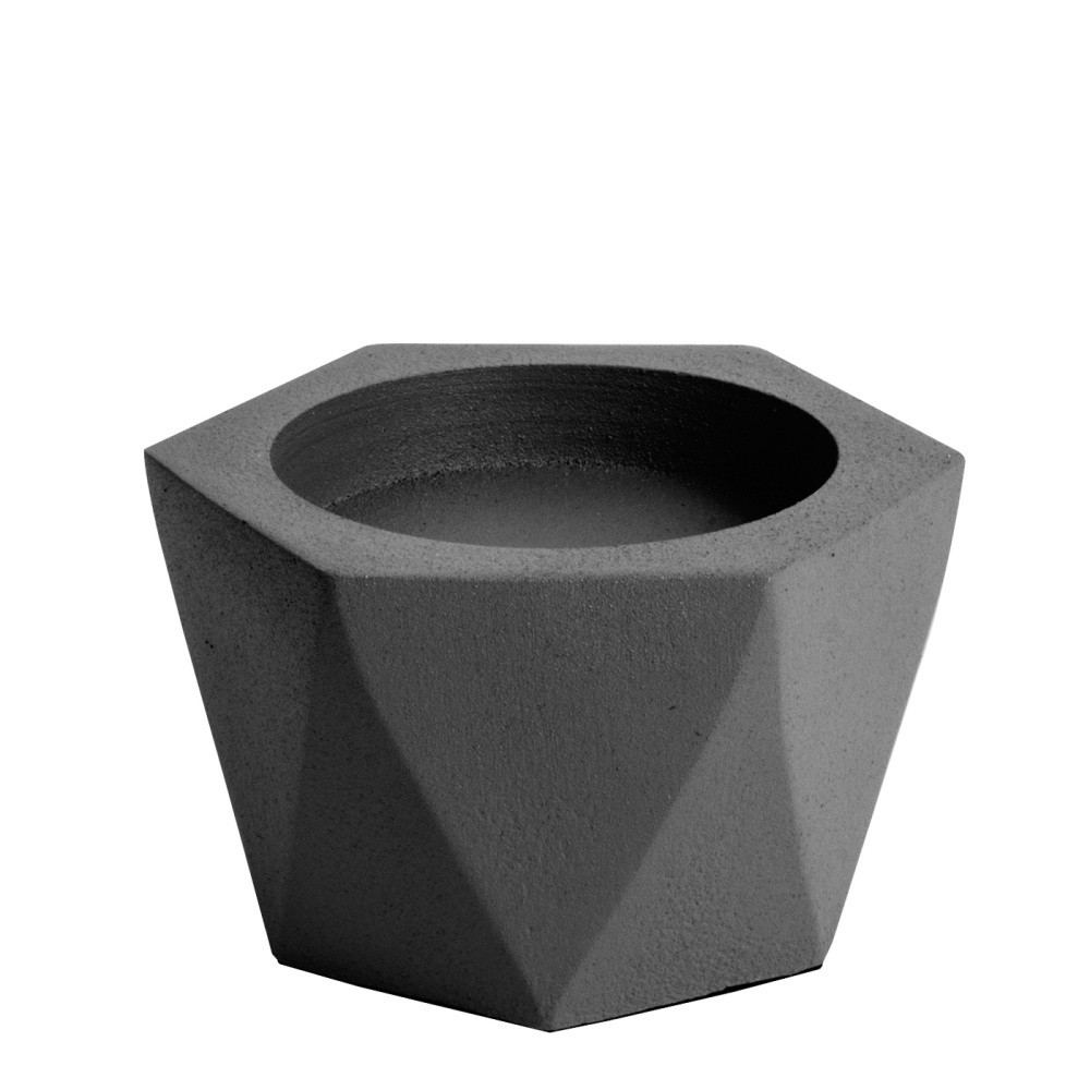 Čierny svietnik PT LIVING Nimble, ⌀ 10 cm