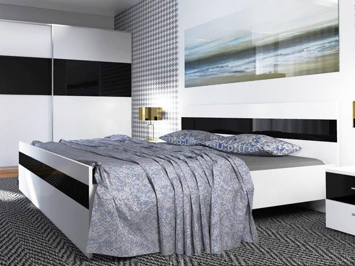 Manželská posteľ 160 cm Devon
