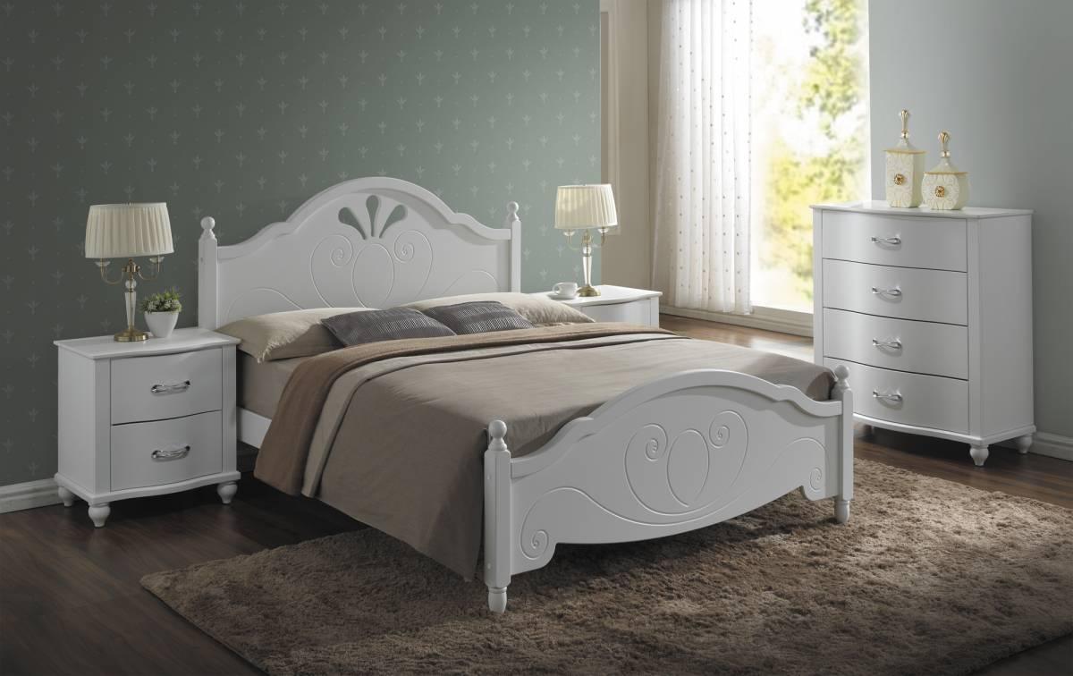 Manželská posteľ 160 cm Malta (s roštom)