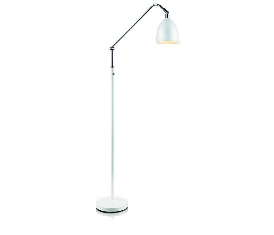 Biela stojacia lampa Markslöjd Fredrikshamn