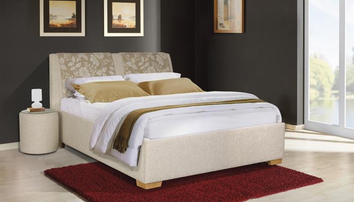 Čalúnená posteľ DAFNE C s UP, 140x200 cm