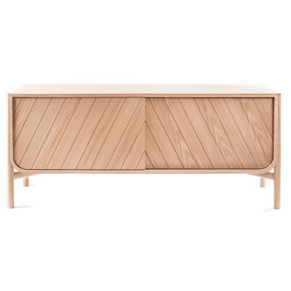 TV komoda z dubového dreva HARTÔ Marius, šírka185cm