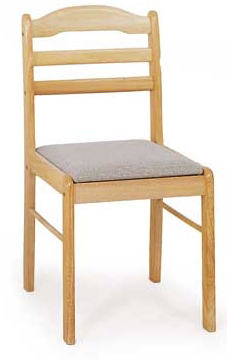 Jedálenská stolička C-2002 NAT