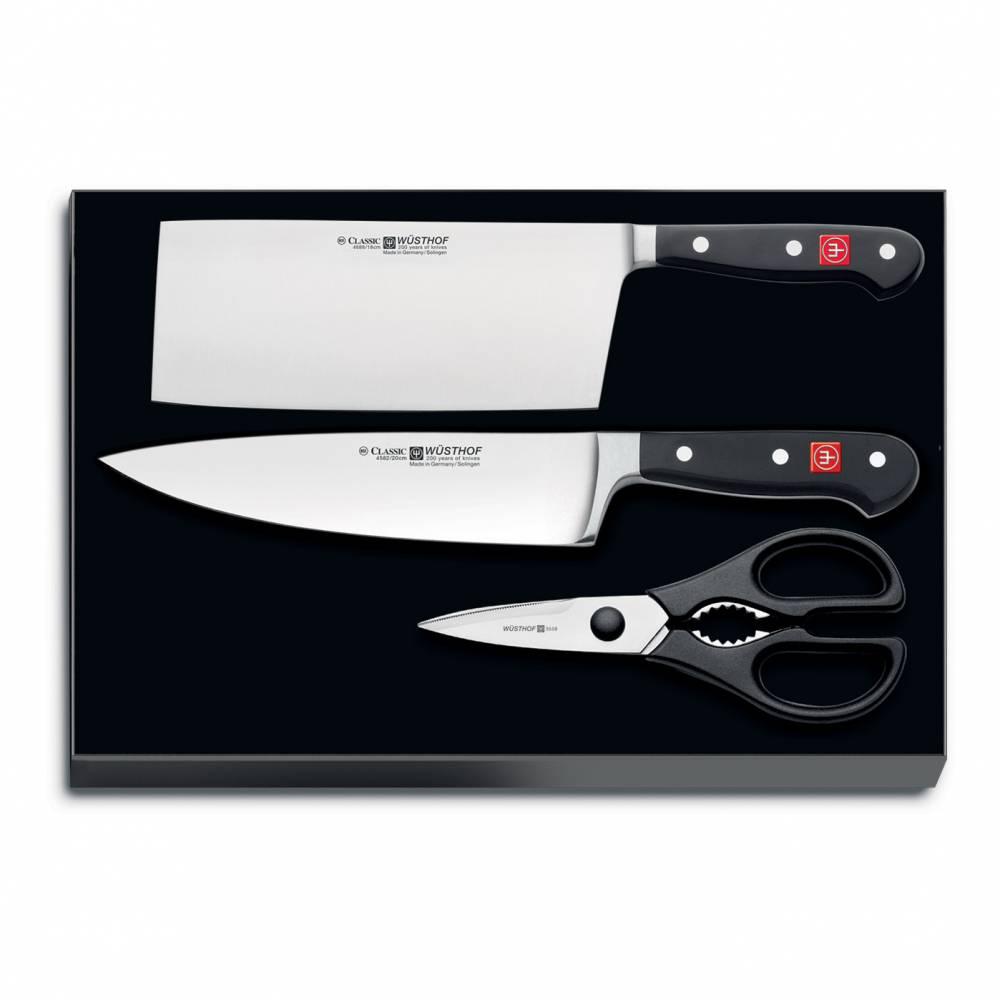 Súprava nožov s nožnicami 3-dielna Classic  + 10% zľava na celý nákup s kódom: LETO10
