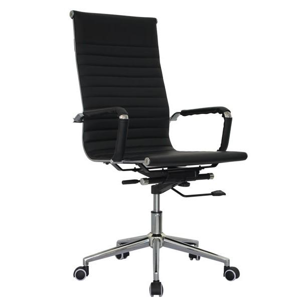 Kancelárska stolička čierna ZK73
