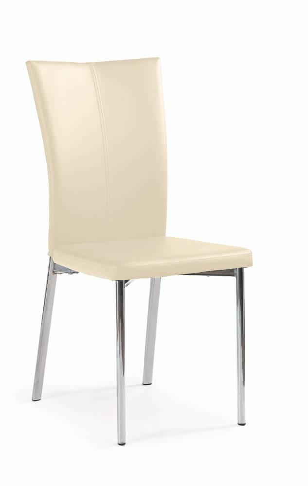 Jedálenská stolička K113 tmavokrémová