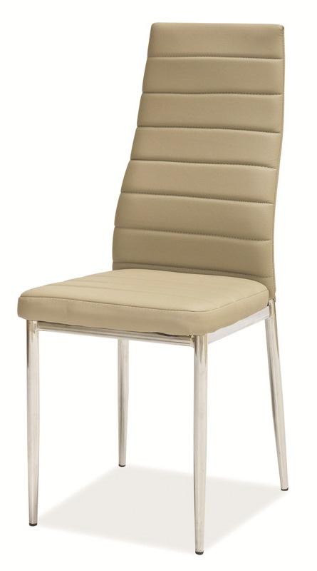 SIGNAL H-261 jedálenská stolička - tmavo béžová