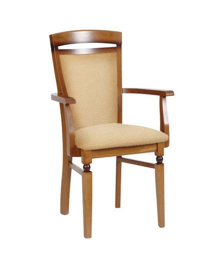 Jedálenská stolička Bawaria DKRS P   Farba: Orech taliansky / béžová