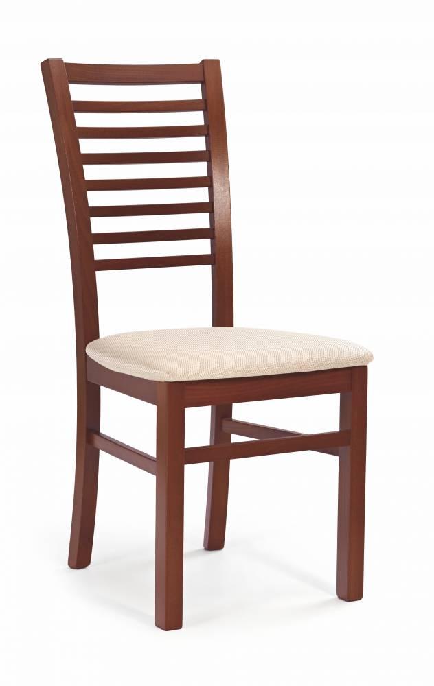 Jedálenská stolička Gerard 6 (čerešňa antická II + béžová)