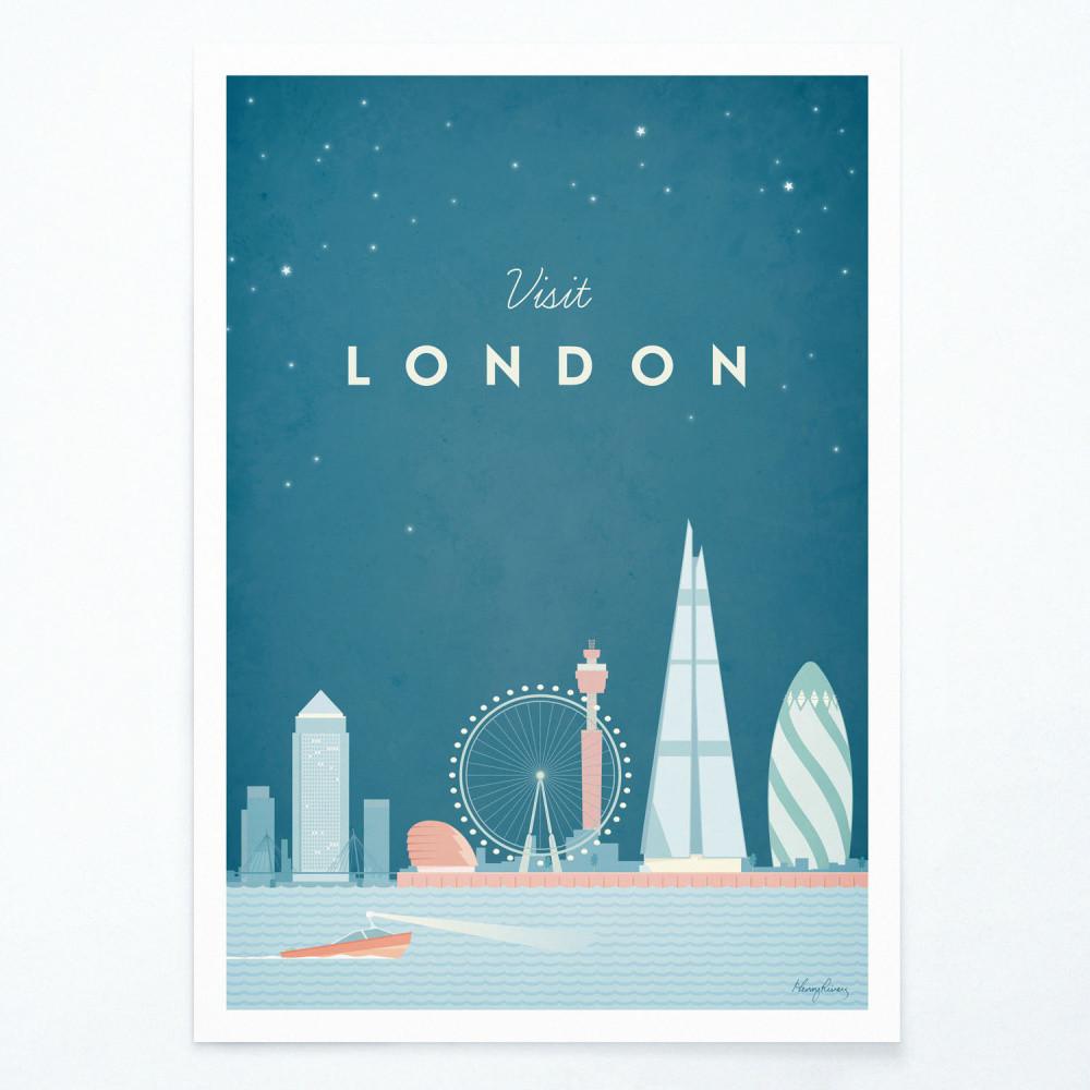 Plagát Travelposter London, A3