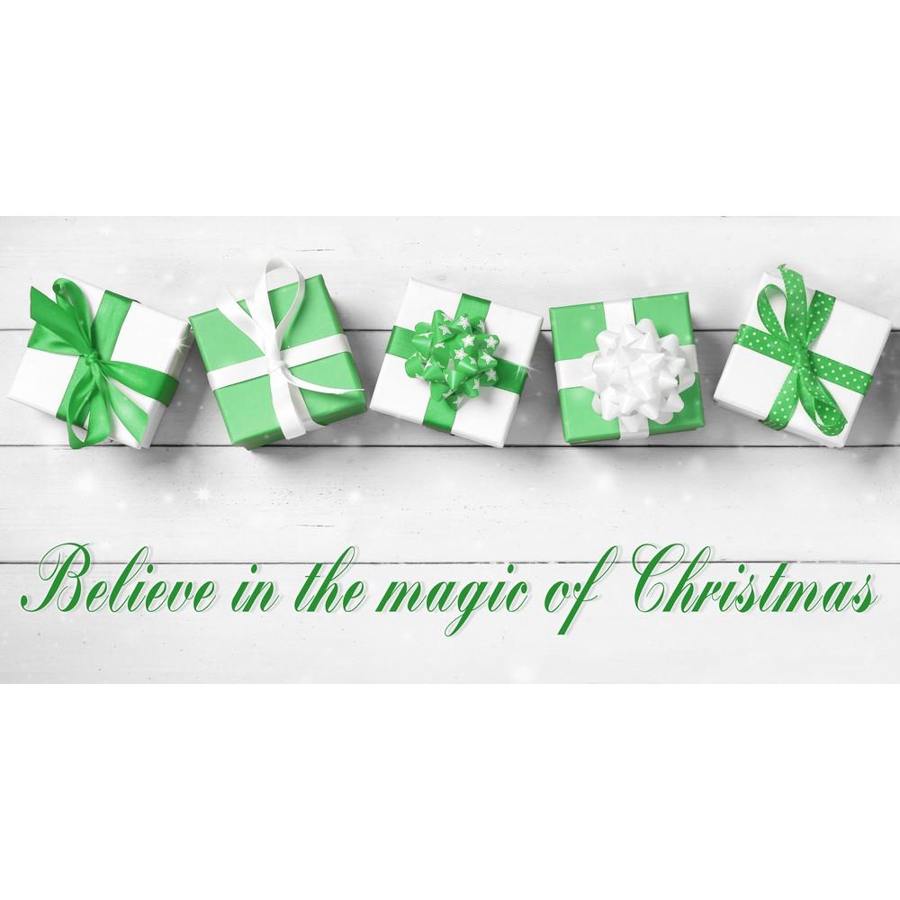 Kuchynský behúň Crido Consulting Magic of Christmas, dĺžka 100 cm