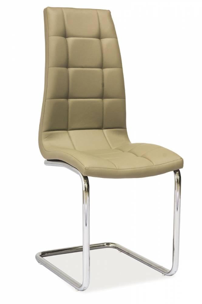 Jedálenská stolička HK-103, tmavobéžová