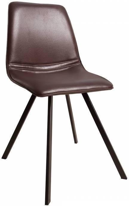 Stolička RETRO AM - hnedá
