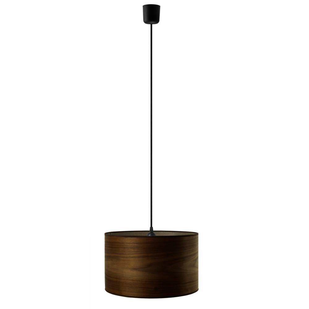 Závesné svietidlo vo farbe orechového dreva Sotto Luce Tsuru, Ø 40 cm