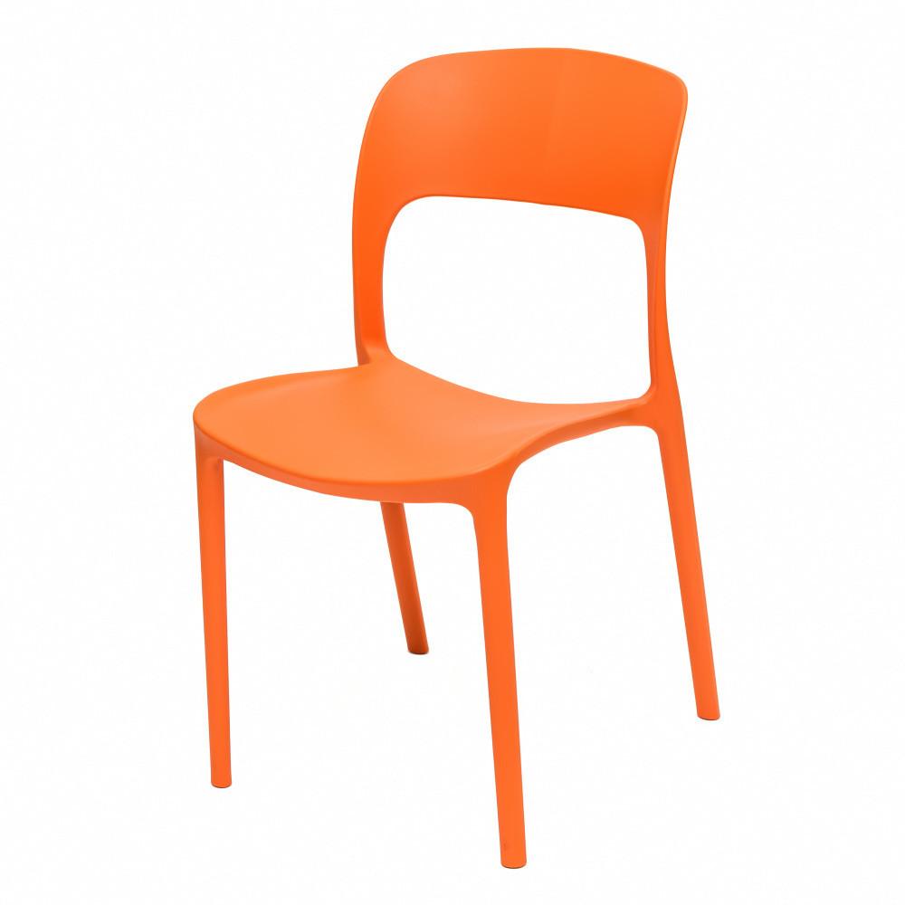 Oranžová stolička Ragaba UFO