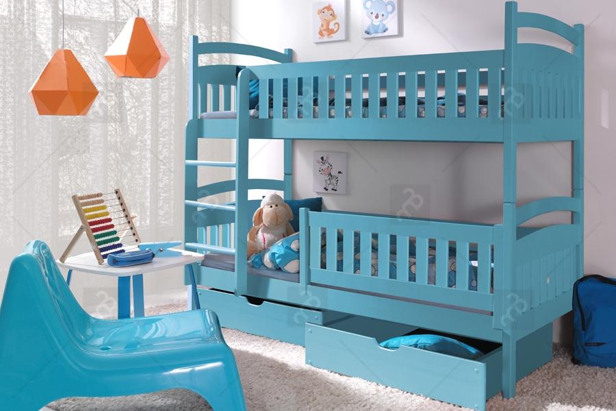 Nabytok-Bogart Poschodová posteľ ania ii 80 x 200