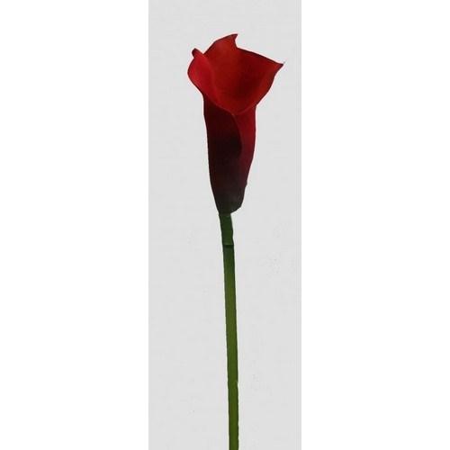 Umelá kvetina Kala vínová, 52 cm