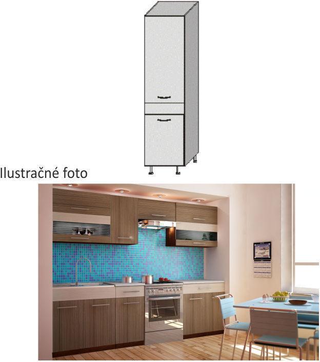 Kuchynská skrinka potravinová, rigoleto dark/light, JURA NEW I S-40