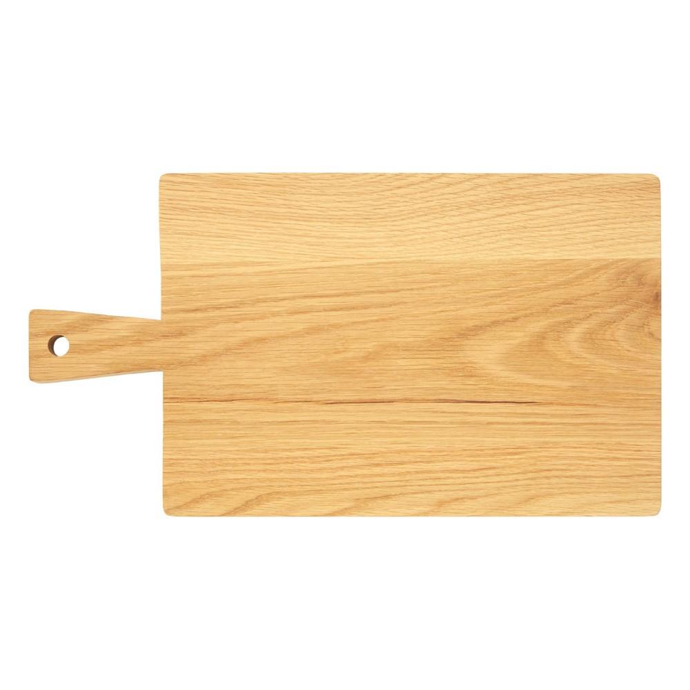 Doštička na krájanie z dubového dreva Premier Housewares, 24×44 cm