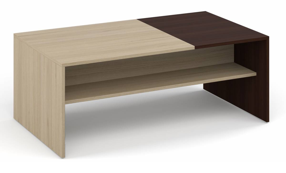 MONAKO konferenčný stolík, wenge/sonoma