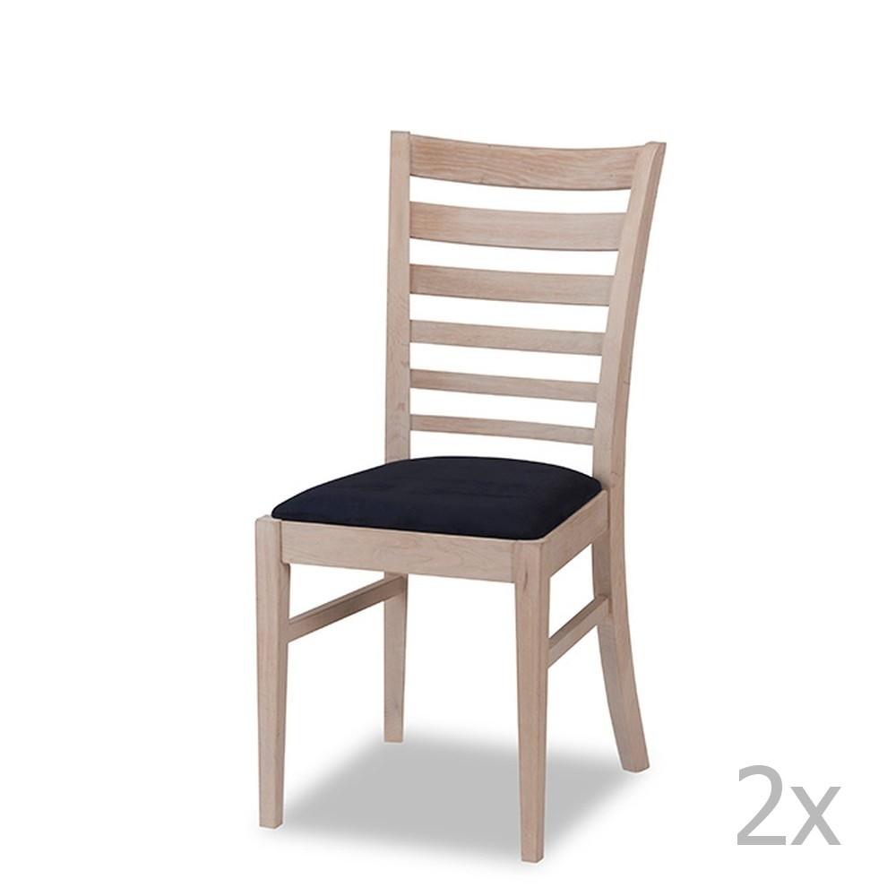 Sada 2 dubových stoličiek Knuds Jannie