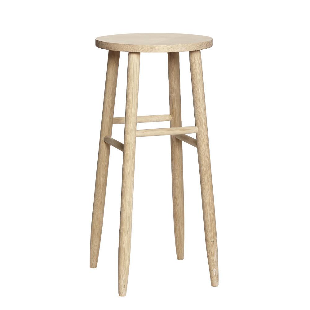 Dubová barová stolička Hübsch Rain