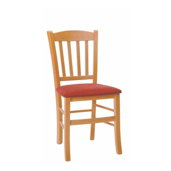 Stolička VENETA látka s čalúneným sedadlom