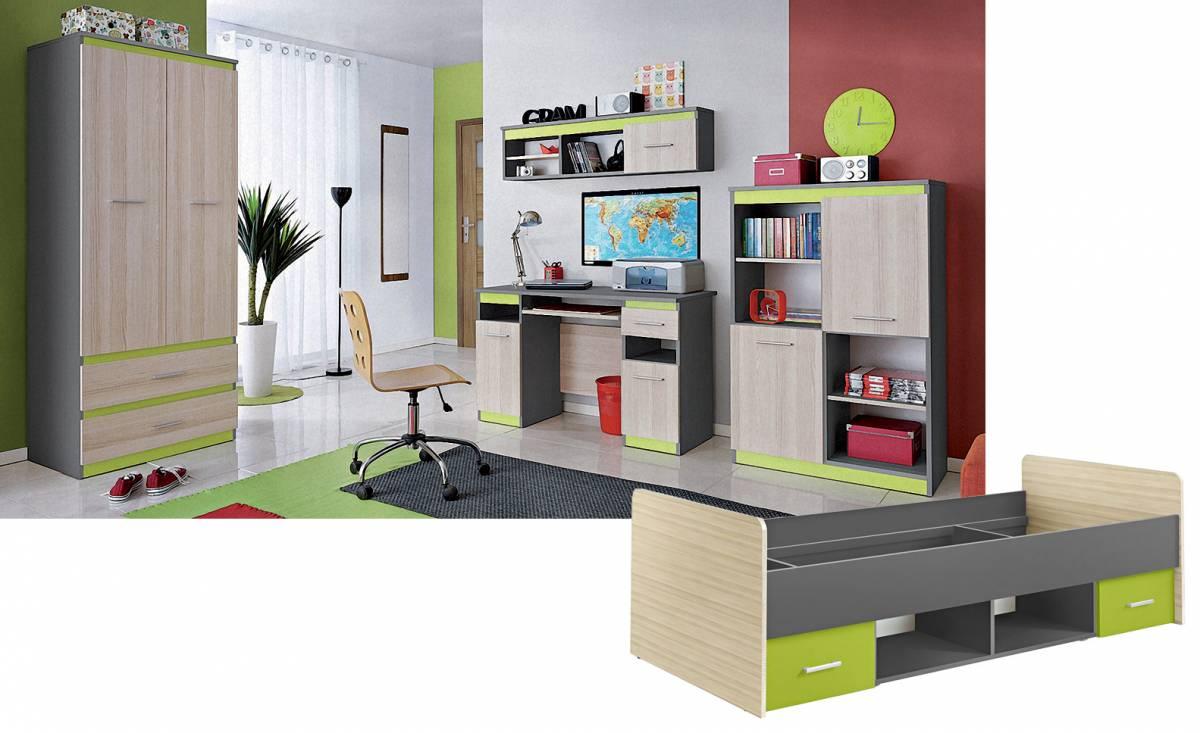 97be343755da Detská izba + posteľ PAULA