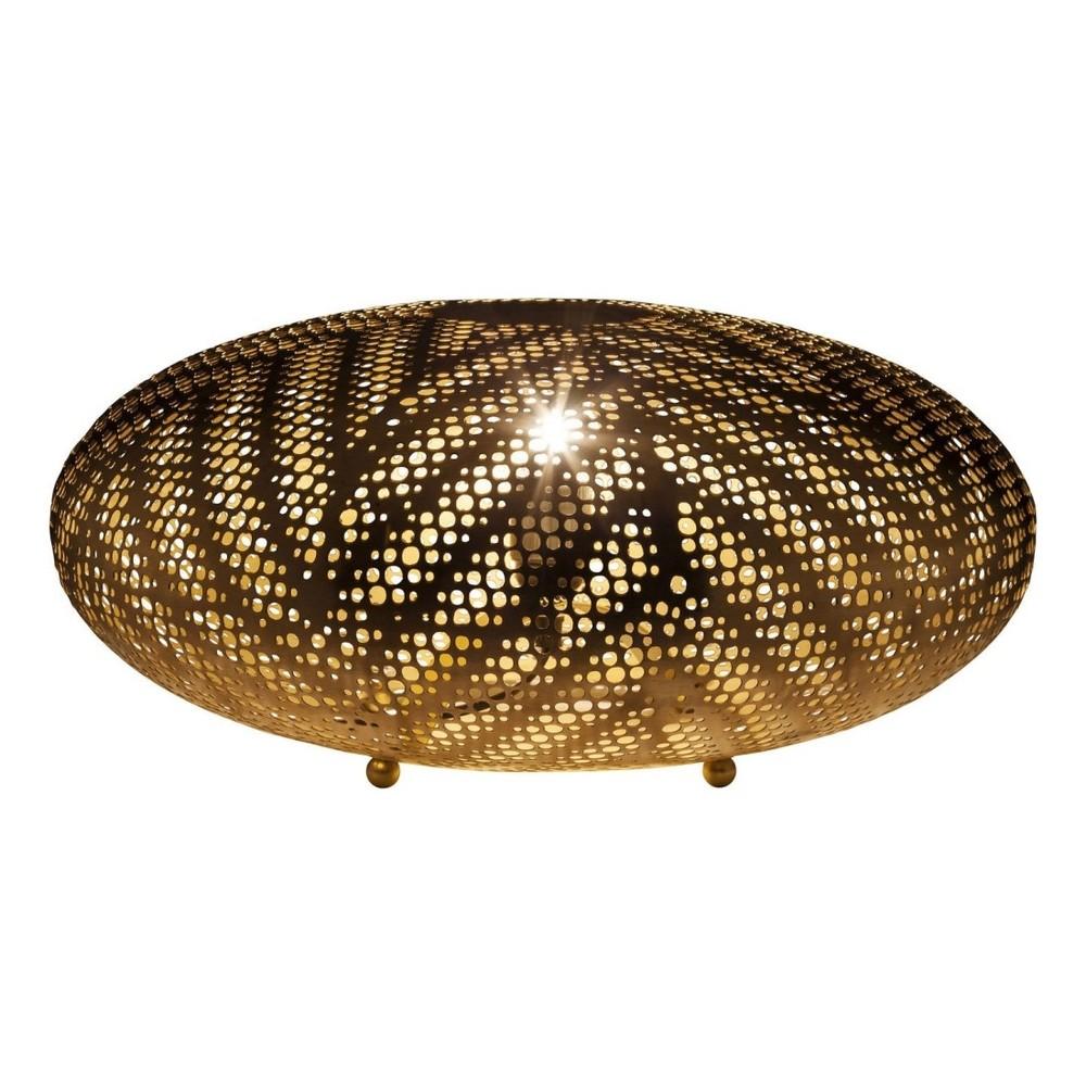 Stojacia lampa v zlatej farbe Kare Design Ufo