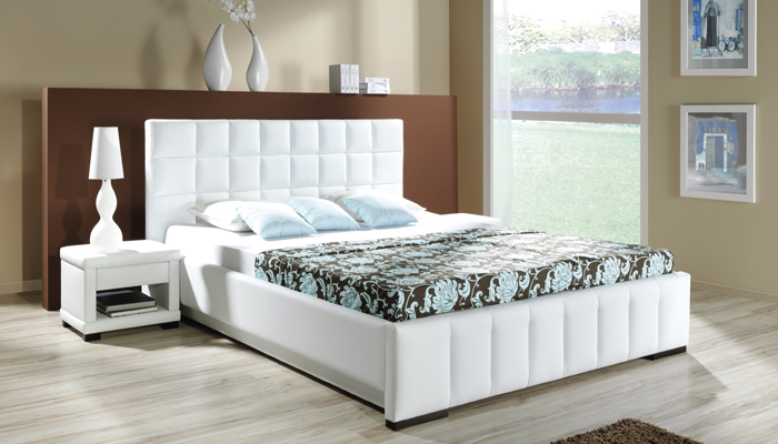 Čalúnená posteľ KALIPSO H bez UP, 180x200 cm