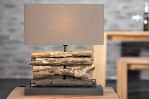 Stolná lampa RERIFERE - hnedá
