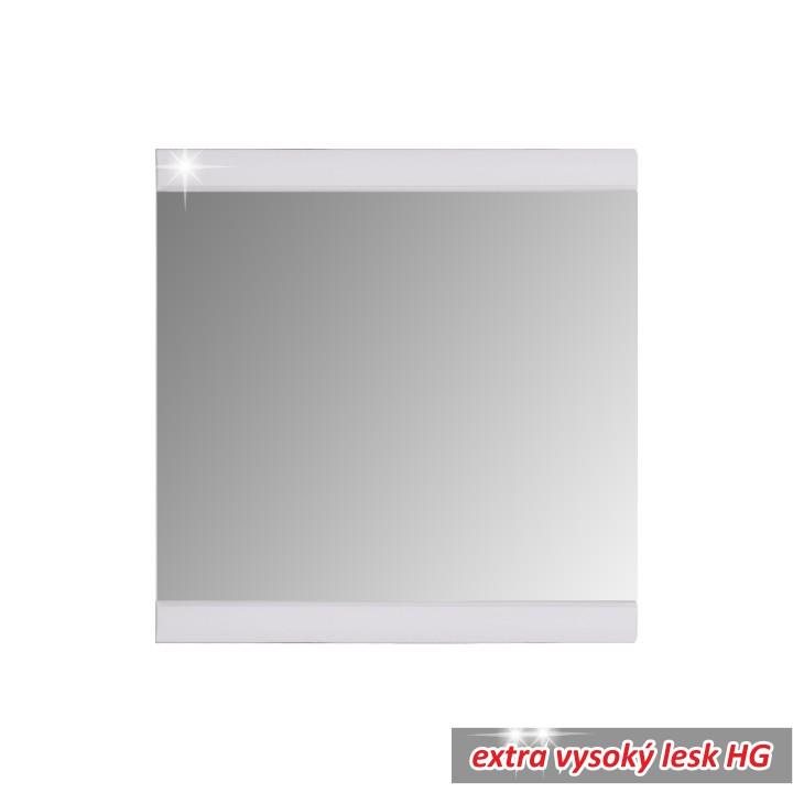 TEMPO KONDELA DERBY zrkadlo - biely vysoký lesk